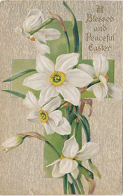 A Blessed And Peaceful Easter John Winsch Postcard - Cakcollectibles