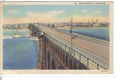 Eads Bridge-St. Louis,Missouri 1938 - Cakcollectibles