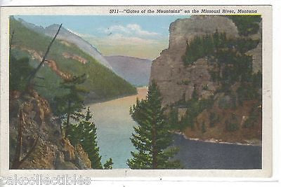 """Gates of The Mountains"" on The Missouri River-Montana - Cakcollectibles"