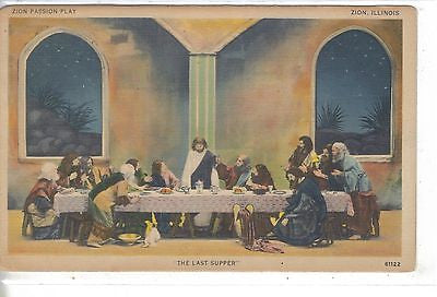 """The Last Supper""-Zion Passion Play-Zion,Illinois - Cakcollectibles"