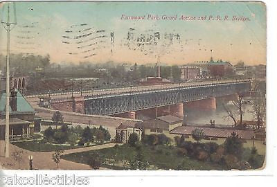 Fairmount Park,Girard Avenue and P.R.R. Bridges-Philadelphia 1911 - Cakcollectibles