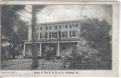 Home of The P.O.S. of A.-Chalfont,Pennsylvania UDB - Cakcollectibles