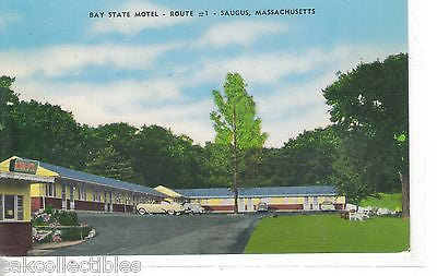 Bay State Motel-Saugus,Massachusetts - Cakcollectibles
