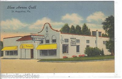 Blue Heron Grill-St. Augustine,Florida - Cakcollectibles - 1