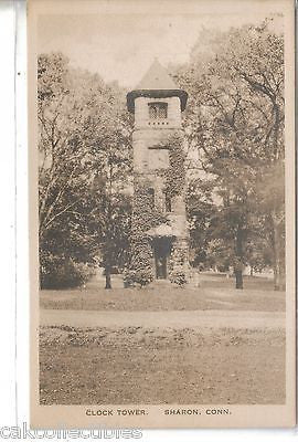 Clock Tower-Sharon,Connecticut - Cakcollectibles