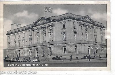 Federal Building-Ogden,Utah - Cakcollectibles