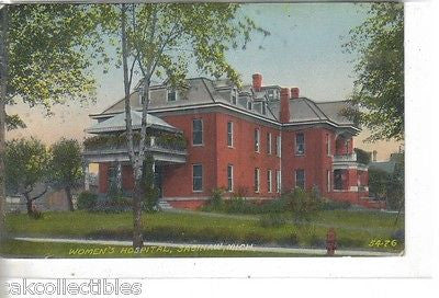 Women's Hospital-Saginaw,Michigan 1911 - Cakcollectibles - 1
