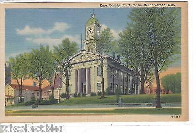 Knox County Court House-Mount Vernon,Ohio - Cakcollectibles
