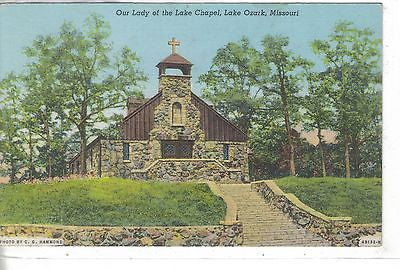 Our Lady of The Lake Chapel-Lake Ozark,Missouri 1947 - Cakcollectibles