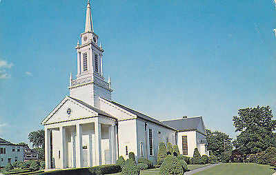 Church Of The Holy Name, Fall River, Mass. Postcard - Cakcollectibles - 1