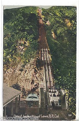 Great Incline-Mt. Lowe R.R.-California - Cakcollectibles