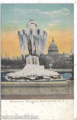 Bartholdi Fountain-Washington,D.C. UDB - Cakcollectibles