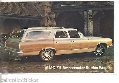 AMC Ambassador Station Wagon-Vintage Post Card - Cakcollectibles - 1
