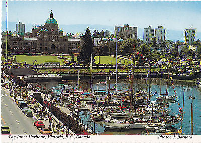 """The Inner Harbour"" Victoria, B.C., Canada Postcard - Cakcollectibles - 1"