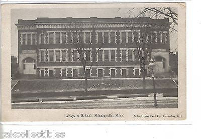 LaFayette School-Minneapolis,Minnesota - Cakcollectibles
