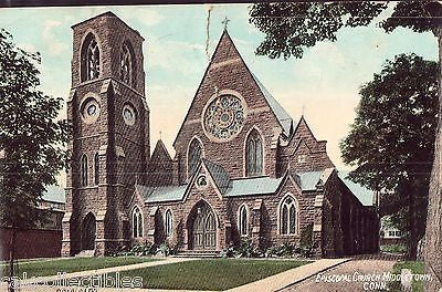 Episcopal Church-Middletown,Connecticut 1909 - Cakcollectibles