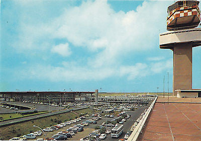 International Airport Fiumicino Leonardo Da Vinci Postcard - Cakcollectibles - 1