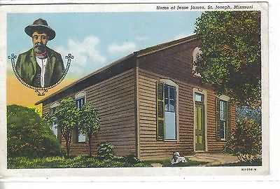 Home of Jesse James-St. Joseph,Missouri - Cakcollectibles