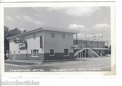 RPPC-Edgewater Motel-Chamberlain,South Dakota - Cakcollectibles - 1