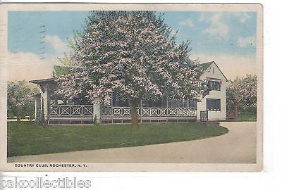 Country Club-Rochester,New York 1915 - Cakcollectibles