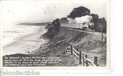RPPC-Southern Pacific's Daylight (Los Angles to San Francisco) #5 - Cakcollectibles - 1
