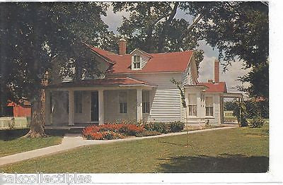 Boyhood Home of Maj. Gen. Frederick Funton,Funston Memorial State Park-Kansas - Cakcollectibles
