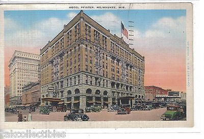 Hotel Pfister-Milwaukee,Wisconsin 1940 - Cakcollectibles