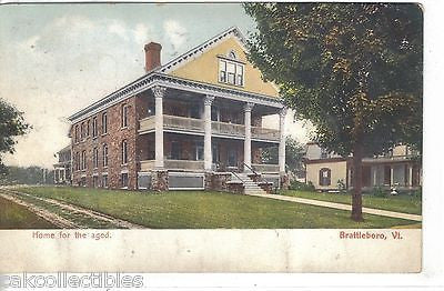 Home for The Aged-Brattleboro,Vermont - Cakcollectibles
