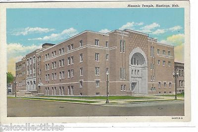 Masonic Temple-Hastings,Nebraska - Cakcollectibles