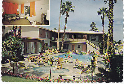 Bermuda Palms Apartment Hotel Postcard - Cakcollectibles - 1