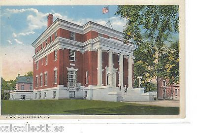 Y.M.C.A. Building-Plattsburg,New York - Cakcollectibles