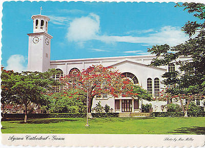 Agana Cathedral-Guam Postcard - Cakcollectibles - 1