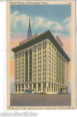 Hotel Patten-Chattanooga,Tennessee 1950 - Cakcollectibles