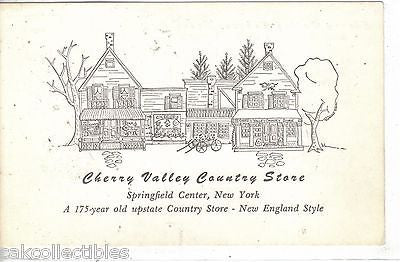 Cherry Valley Country Store-Springfield Center,New York - Cakcollectibles