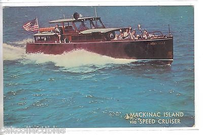 """Fairy Isle""-Speed Cruiser to Mackinac Island-Michigan - Cakcollectibles"