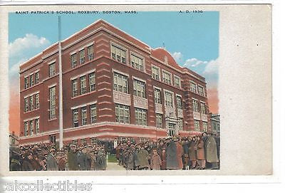 Saint Patrick's School-Roxbury,Boston,Massachusetts - Cakcollectibles
