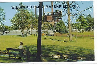 Beautiful Wildwood Park, Marshfield, Wisconsin - Cakcollectibles