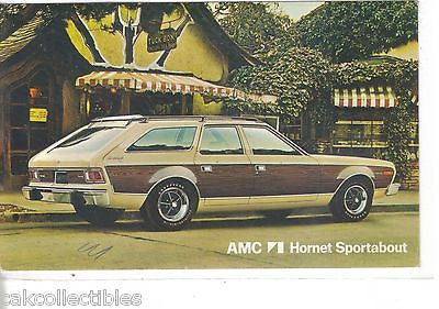AMC Hornet Sportabout-Vintage Post Card - Cakcollectibles - 1