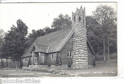 RPPC-Tahquamenon Methodist Chapel-Hulbert,Michigan - Cakcollectibles - 1