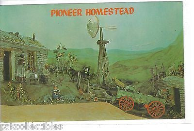 Pioneer Homestead Diorama,Nebraska State Historical Society-Lincoln,Nebraska - Cakcollectibles