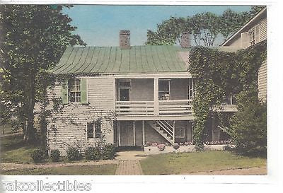 """Ash Lawn"",Entrance to Kitchens-Charlottesville,Virginia (Hand Colored) - Cakcollectibles"