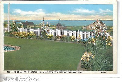 The Ocean from Joseph C. Lincoln Estate-Chatham,Cape Cod,Massachusetts - Cakcollectibles