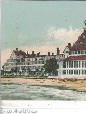 Hotel Del Coronado from Pacific Ocean-California UDB - Cakcollectibles