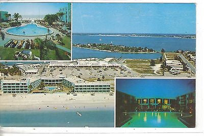 Happy Dolphin Inn-St. Pete Beach,Florida.Vintage potscard front