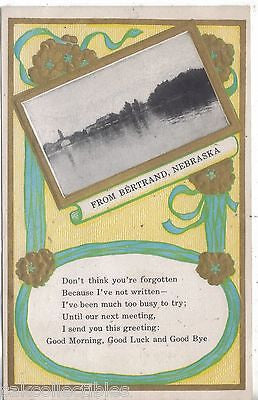 Early Post Card from Bertrand,Nebraska 1910 - Cakcollectibles