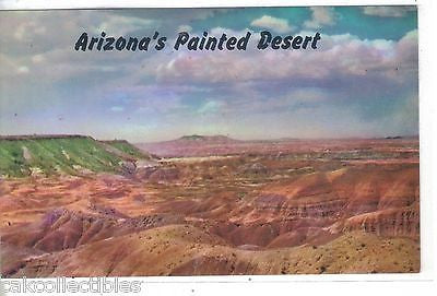 Arizona's Painted Desert on Highway 66 near Holbrook,Arizona - Cakcollectibles