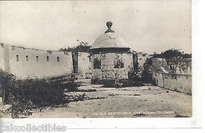 RPPC-An Old Sentry Box-Cartagena,Colombia - Cakcollectibles