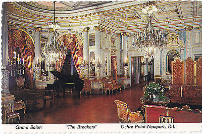 "Grand Salon ""The Breakers"" Ochre Point-Newport, R.I. - Cakcollectibles - 1"