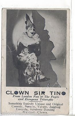 Clown Sir Tino - Cakcollectibles