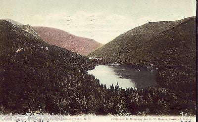 Echo Lake and Progile House-Franconia Notch,New Hampshire 1905 - Cakcollectibles